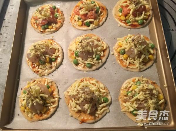 迷你披萨怎样煮