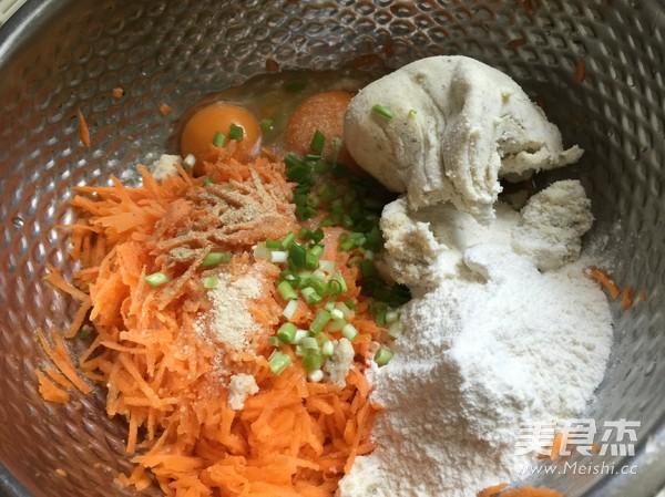 豆渣胡萝卜丸子怎么吃