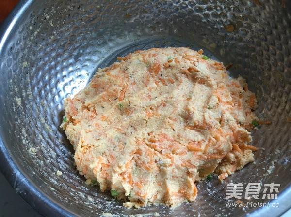 豆渣胡萝卜丸子怎么做