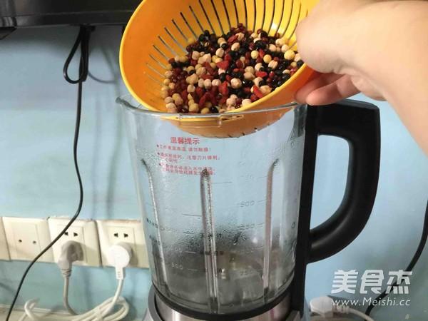 枸杞多豆浆的家常做法