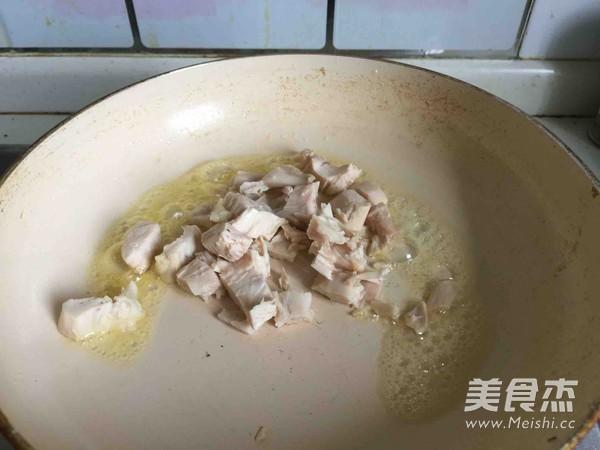 松露鸡茸浓汤的步骤