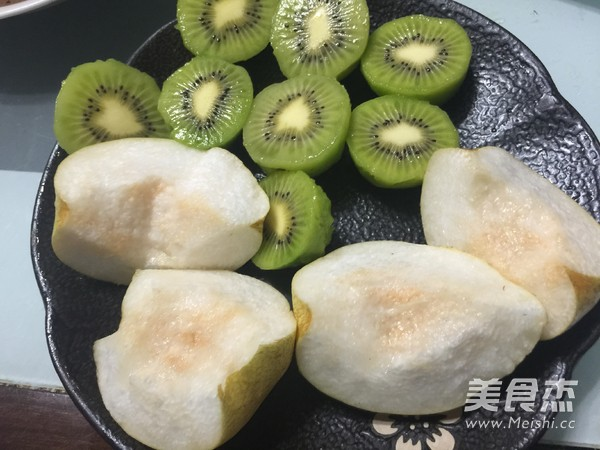 猕猴桃梨汁的家常做法