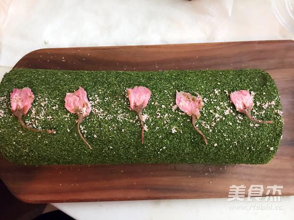 樱花海苔肉松蛋糕卷的做法大全