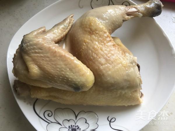 糟香三黄鸡的步骤