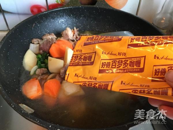 熊猫咖喱牛肉饭怎么煮