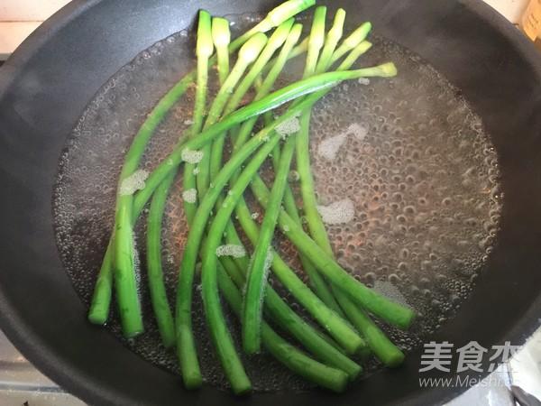 凉拌蒜苔的做法图解