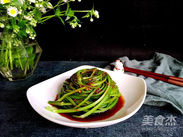 凉拌蒜苔怎么煮