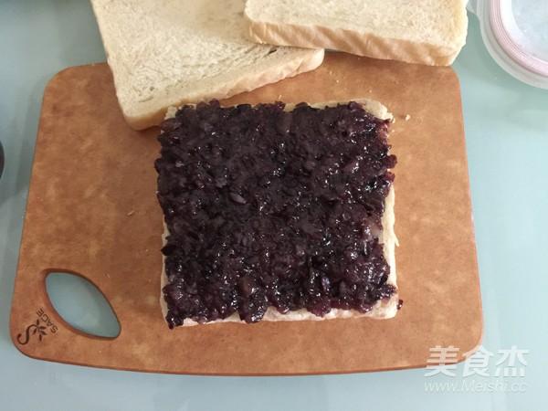紫米奶酪吐司怎么煮