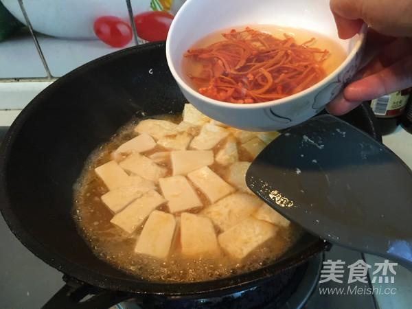 虫草花豆腐汤怎么炒