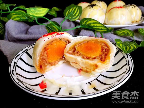 咸蛋黄鲜肉月饼的做法大全