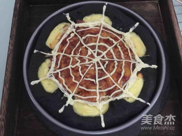 万圣节黑披萨的制作方法