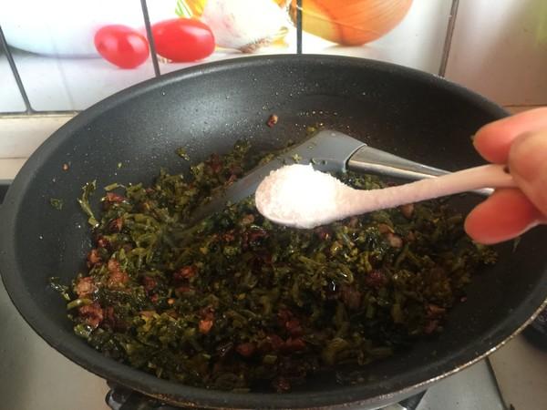 咸菜油渣柳叶包怎么做