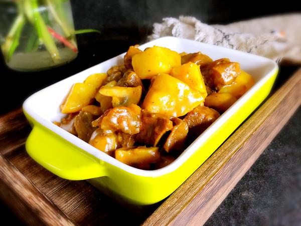 咖喱土豆炖牛肉怎样做