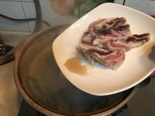 咸肉炖河蚌怎么煮