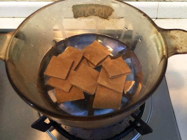 马兰头拌香干的简单做法