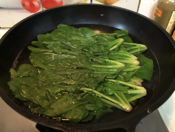 拌菠菜的家常做法
