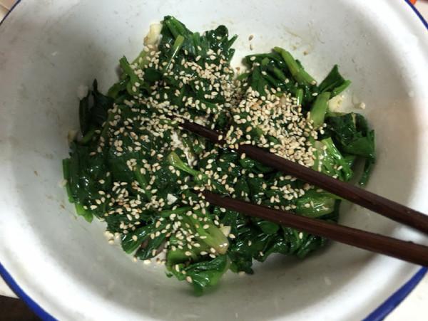 拌菠菜怎么煮