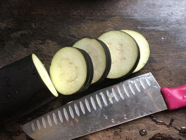 酥炸茄夹的做法图解