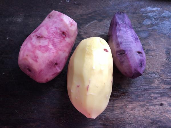 炝拌土豆丝的步骤