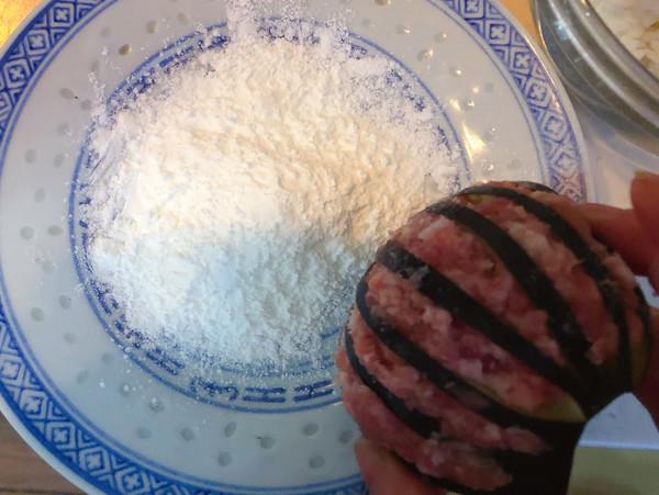 年夜饭硬菜之灯笼茄子(炸)的简单做法