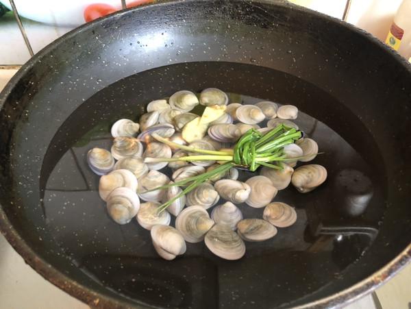 丝瓜蛤蜊汤的做法图解
