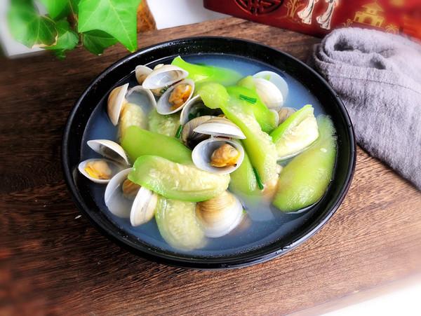 丝瓜蛤蜊汤怎么煸