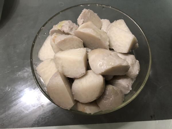 桂花糖芋艿怎么炒