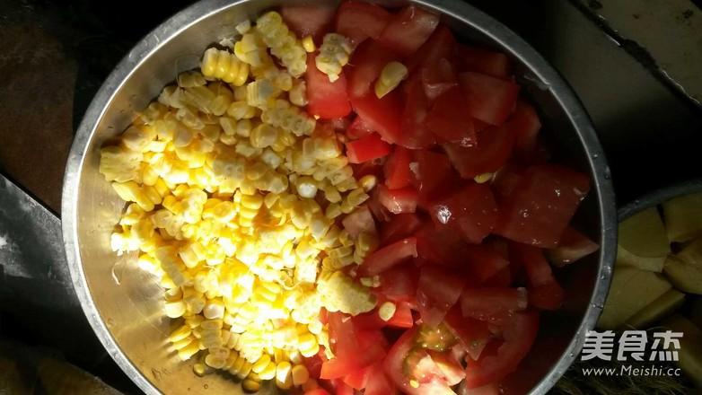 番茄玉米薯子汤的做法大全