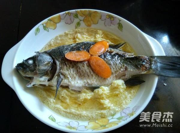 河鲫鱼蒸蛋怎么炒