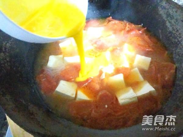 番茄豆腐蛋花汤怎么煮