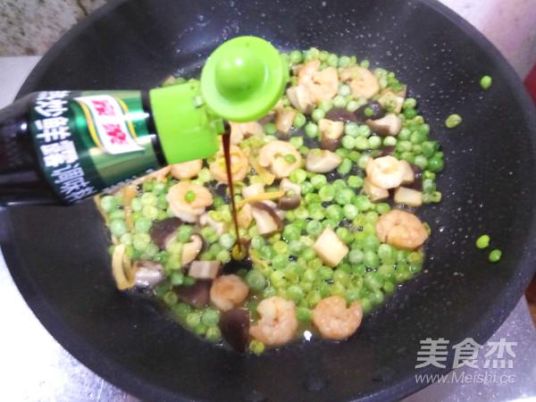 豌豆虾球怎样炒
