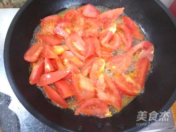 番茄水炒蛋的家常做法