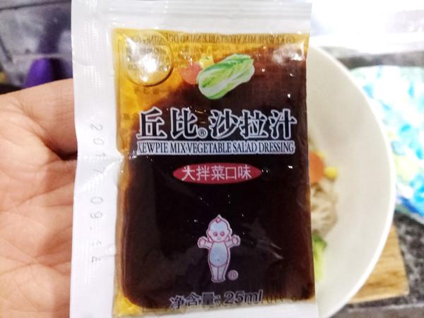 凉拌什锦田园丘比沙拉汁怎样炒