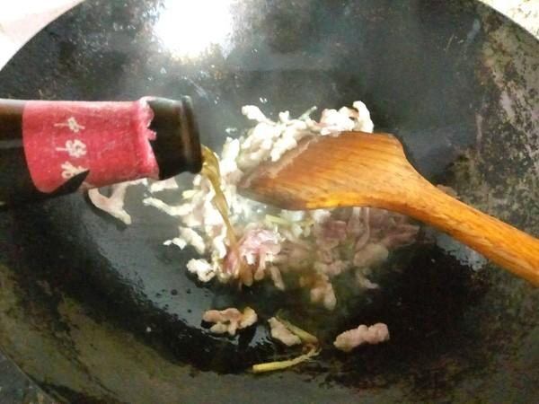 雪菜肉丝面怎么炒