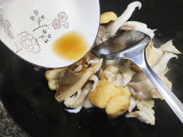 素炒平菇怎么煮
