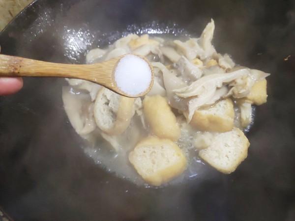 素炒平菇怎么炖
