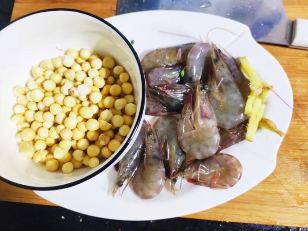 鸡头米炒虾的做法大全