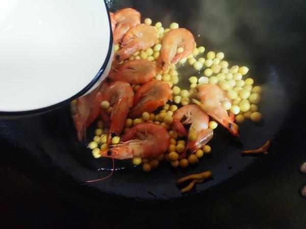 鸡头米炒虾怎么做