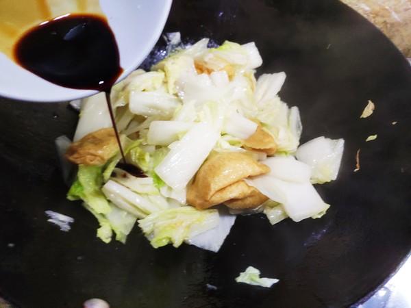 白菜焖面筋怎么做