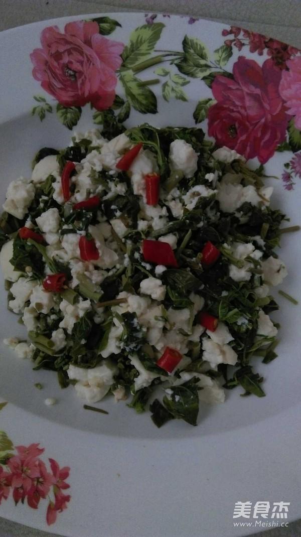 香椿芽拌豆腐怎么吃