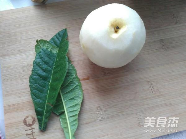 枇杷叶冰糖炖梨的做法大全