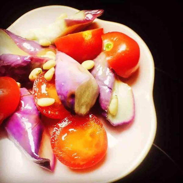 茄子沙拉成品图