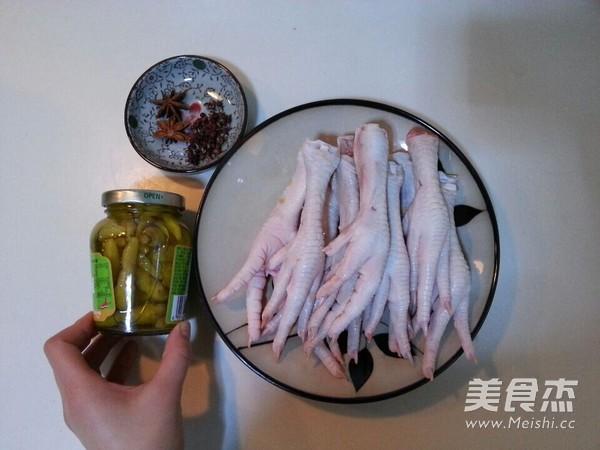 泡椒凤爪的做法大全