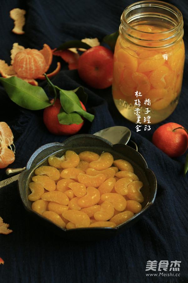 橘子罐头成品图