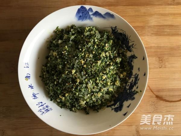 荠菜素馅蒸饺怎么做