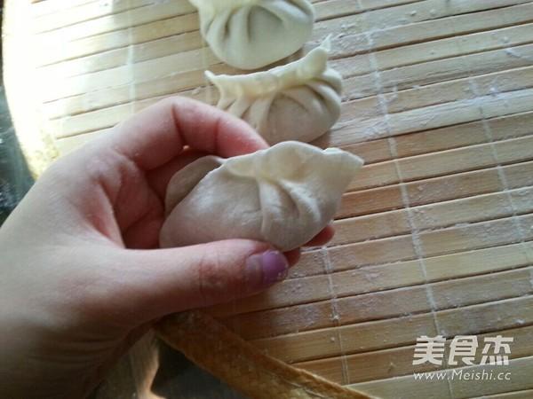猪肉白菜水饺的制作
