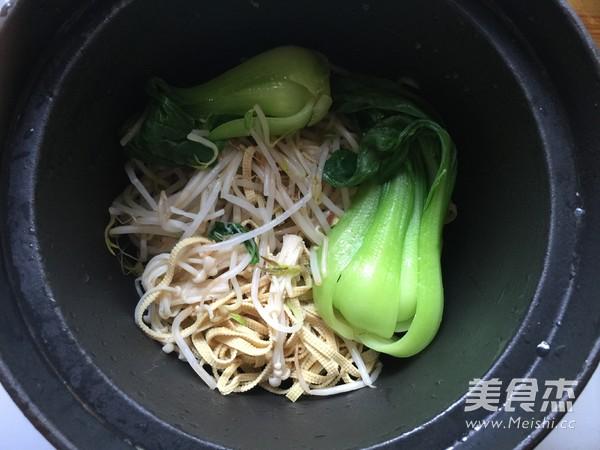 香菇鸡丁小锅米线怎样做