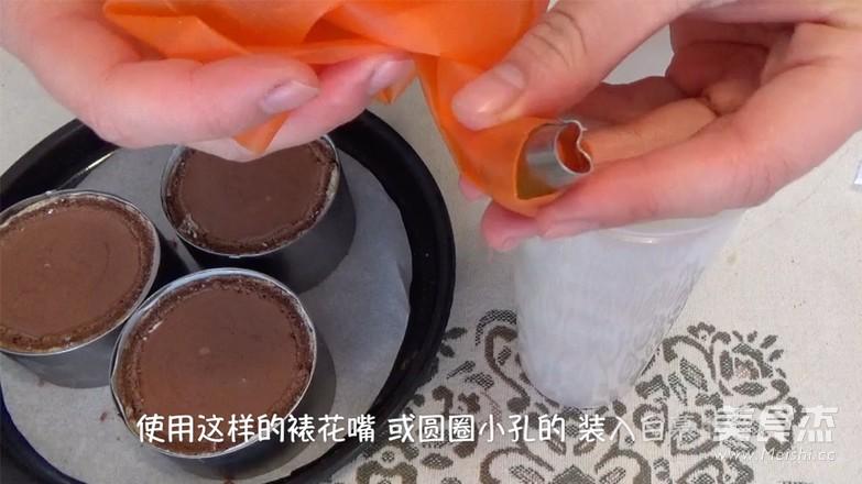 唐草花 巧克力慕斯蛋糕的做法大全