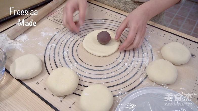 视频  日式红豆包怎么煸
