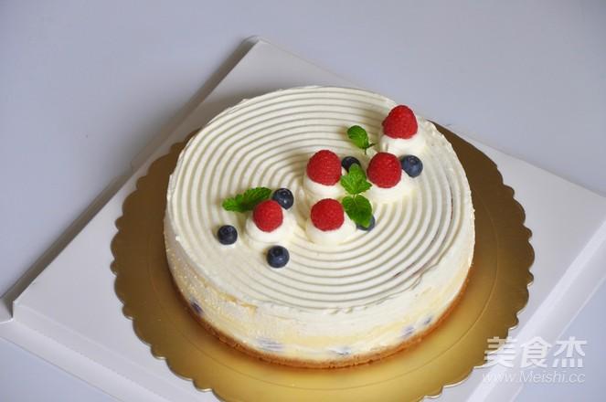 蓝莓重芝士蛋糕怎么煮